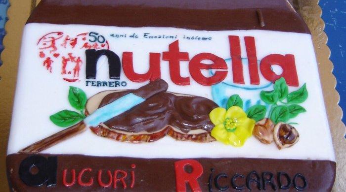 Cake design Nutella