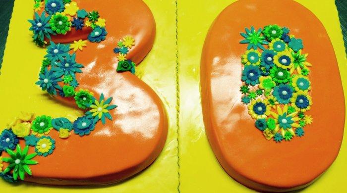 Cake design numero 30